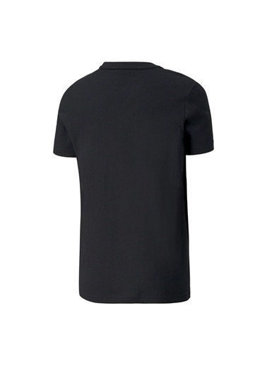 Puma Puma 58126801 Alpha Graphic Tee Siyah Erkek Çocuk T-Shirt Siyah